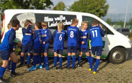 D1-Junioren testen beim FC Pirna