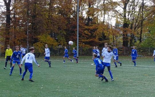 B-Junioren verlieren in Bühlau