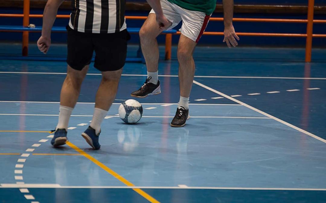 Gutes Abschneiden beim Futsal